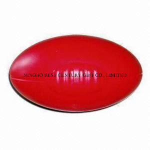 PU Stress Ball Large Aussie Football Rugby Shape Toy