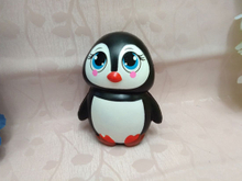 PU Squishies Foam Lady Penguin Squishy Slow Rise Toy