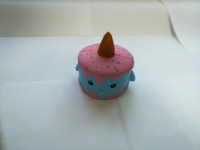 Hot Selling Blue Unicorn Cake PU Squishy Slow Rising Toy