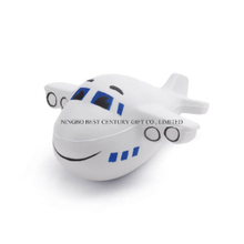 Plane Shape PU Foam Promotional Toy Stress Ball