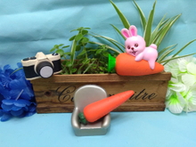 Squishies Bunny Rabbit Carrot Fruit Squishy Slow Rising Scented Toys