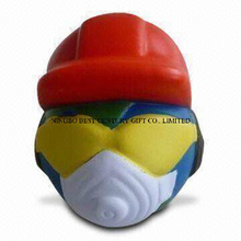 PU Anti-Stress Ball Globe Man Shape