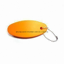 PU Foam Stress Ball Floating Keychain Shape Toy