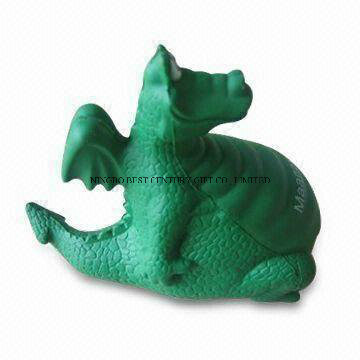 Dinosaur Shape PU Foam Stress Toy Promotional Stress Balls