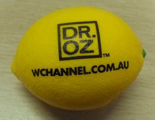 PU Stress Reliever Lemon Shape Toy