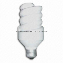 PU Energy-Saving Lamp Shape Stress Reliever for Promotional or Giveaways