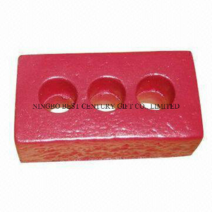 PU Stress Reliever Brick Three Holes Design for Promotional Gift Toy