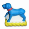 PU Foam Gift in Dog (with Mat) Design Stress Ball