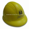 Wholesale PU Safety Hat Helmet Stress Reliever Toy with Custom Logo