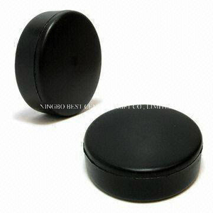 Wholesale PU Foam Stress Ball Hockey Puck Shape Toy