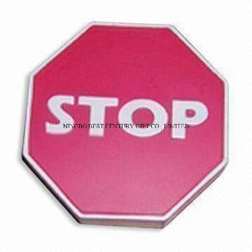 Stop Sign Shape PU Foam Promotional Toy Stress Ball