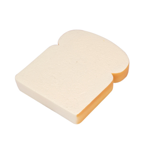 PU Stress Bread Slice Loaf Shape Squishy Toy