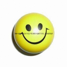 PU Stress Ball Smiling Ball Design