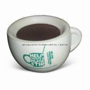 PU Foam Stress Reliever Gift Coffee Cup Shape