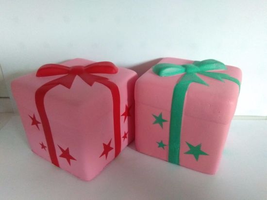 Custom Squishies Gift Boxes Package PU Slow Release Squishy Toys