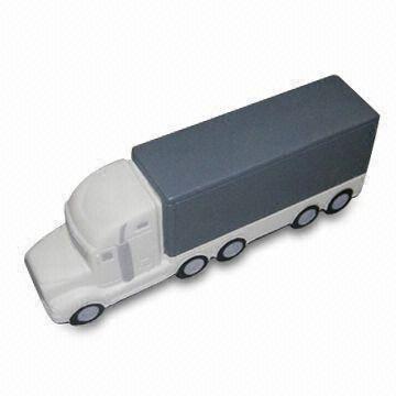 Shipping Container Truck Shape PU Foam Stress Gift Toy