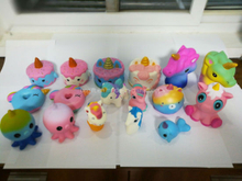 2019 Hot Selling Unicorns Series PU Squishy Slow Rising Toys