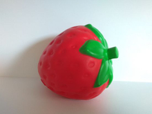 PU Soft Big Strawberry Squishies Large Slow Rising Squishy Toys