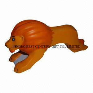 PU Foam Anti-Stress Toy Lion Design Promotional Stress Balls