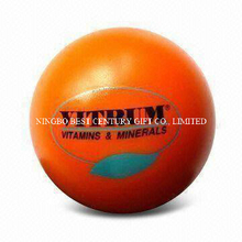 PU Anti Stress Ball in Orange Color