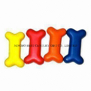PU Foam Toy Bones Shape Promotional Stress Balls
