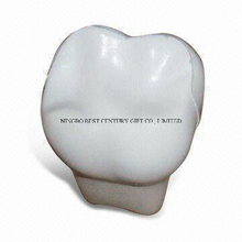 PU Anti Stress Toy in Tooth Design with Logo