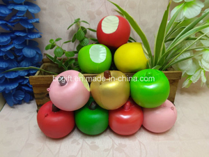 Bite Apples PU Squishy Toys Slow Rising Scented Squishies Fruits