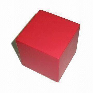 PU Foam Cube Dice Square Stress Reliever Toy