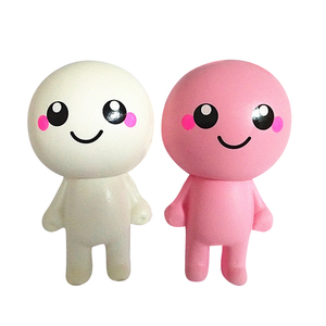 Squishies Dolls Pink and White PU Slow Rising Squishy Toys
