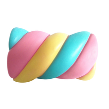 Wholesale PU Squishy Toy Cotton Candy Shape Slow Rising Squishies