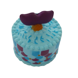 Wholesale Squishies Shark Cake PU Soft Squishy Slow Rising Toy