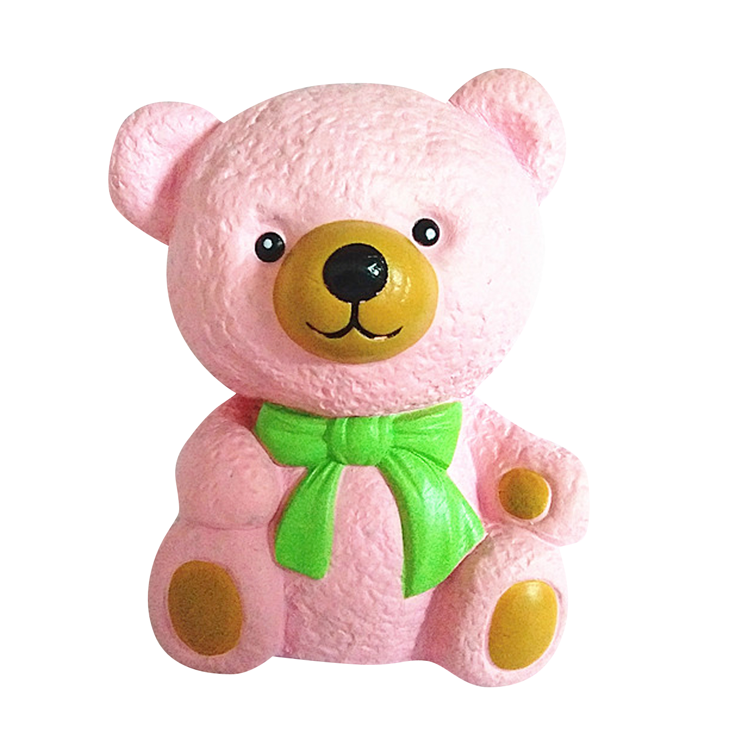 Wholesale Bow Tie Bear PU Soft Slow Rising Squishy Toy